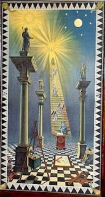 Pleiades in Masonic Lodge history with Sirius as central star