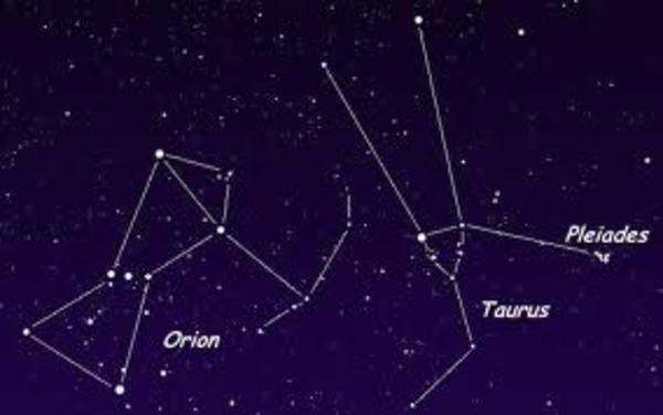 Pleiades Orion Taurus