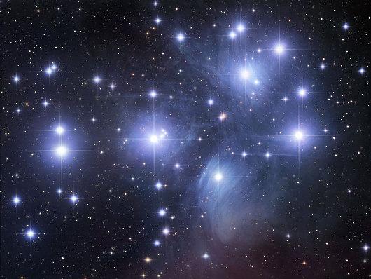 Pleiades Star cluster - Robert Gendler