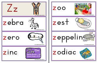 2 letter z words letter zz words abc teaching resources 20039