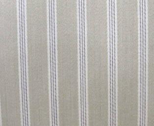 Ticking striped wool