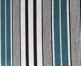 designers guild pin stripe teal
