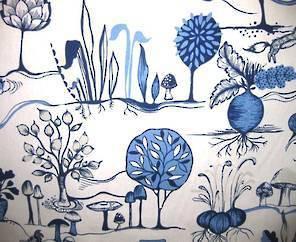 Prestigious Textiles Allotment Cornflower