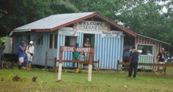 Seghe Airfield Terminal