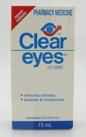 Eyedrops And Washesclear Eyes Eye Drops 15ml