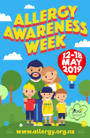 Allergy Awareness Week poster