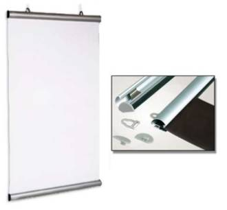 84850 Aluminium Snap Rail Poster Hanging Kit 850mm