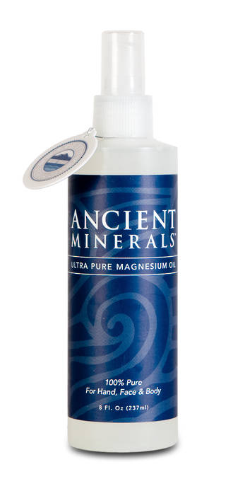 Magnesium Oil Ancient Minerals Topical Spray 240ml Baby4you