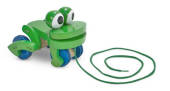 Melissa & Doug Frolicking Frog Pull Along Toy