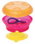 Tommee Tippee Bowl Stay Put with Travel Lid