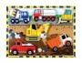 Melissa & Doug Construction Vehicles Chunky Puzzle