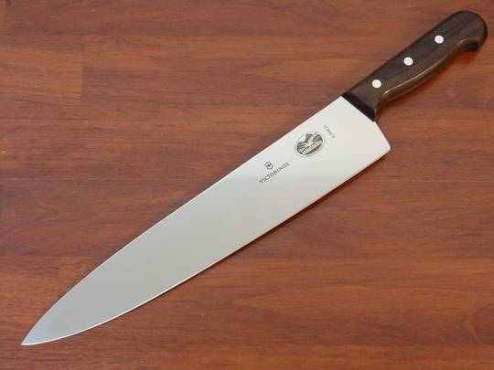Buy Victorinox Chef Knife 31cm Rosewood At Blade Master