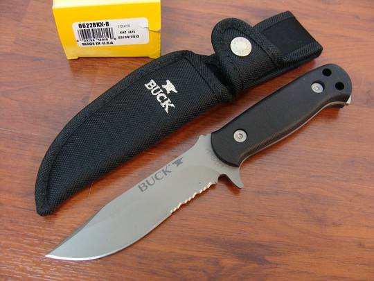 Buy Buck Endeavor Fixed Blade Knife At Blade Master