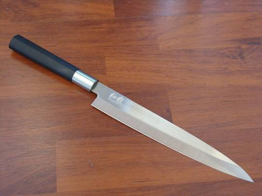 Buy Kershaw Wasabi Japanese Black Yanagiba Knife At Blade Master
