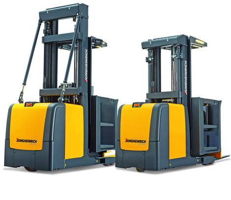Jungheinrich Order Pickers Hire Forklift Trucks Used