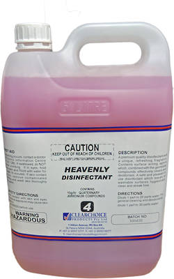 CT HEAVENLY DISINFECTANT 25L