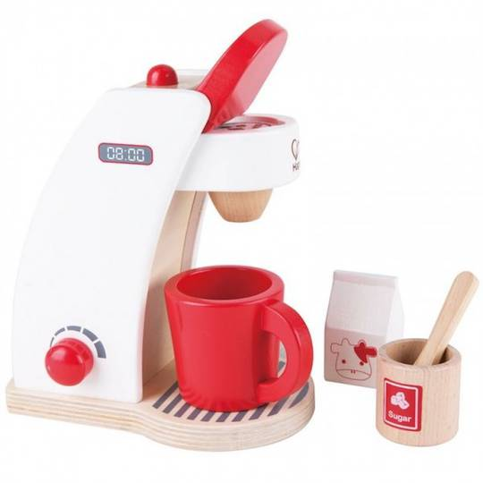 Coffee Maker Toy : Red Coffee Maker HAPE Toys Buy online at DirectToys NZ