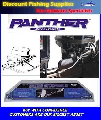 Panther marine fresh water steering link kit steering for Cheap saltwater trolling motor