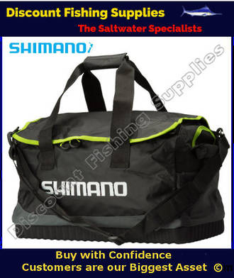 Shimano banar deck bag boat bag gear bag shimano nz for Wholesale fishing tackle outlet