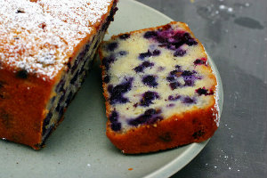 Blueberry and Lemon Loaf 3