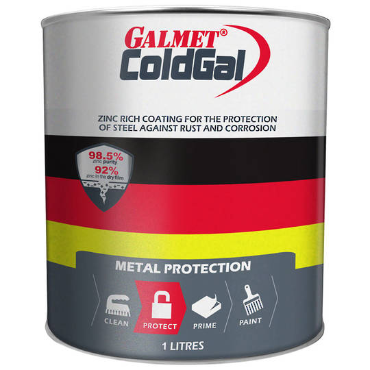 Galmet Cold Galv 1l Paint George Henry Amp Co Ltd