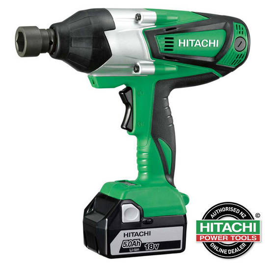 hitachi 18v impact wrench 480nm wr18dshl cordless skins george henry co ltd. Black Bedroom Furniture Sets. Home Design Ideas