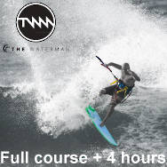 Full Kiteboarding course + 4 hours. total 10 hours!
