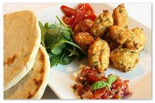 Chicken & Kwark Meatballs with Salsa
