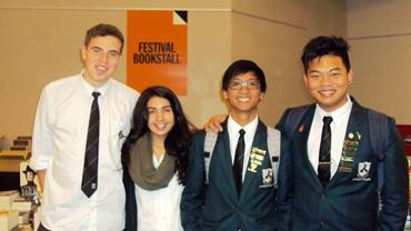Craig Hebblethwaite, Rebecca Gandhi, Boaz Competente and Gavin Feng-1