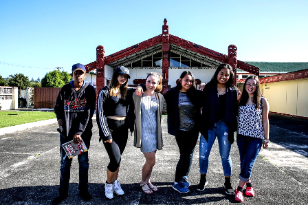 spoken word team at Marae-758