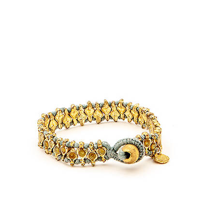 Bracelet Deva- gold blue (sold out)