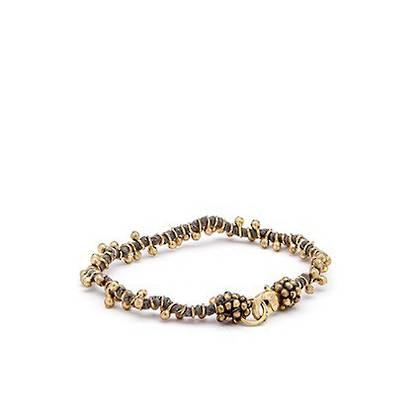 Bracelet Shaanti - gold grey