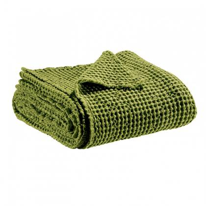 Portuguese Cotton Throw - Moss Green (sold out)