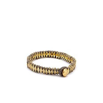 Bracelet Chamak - gold grey