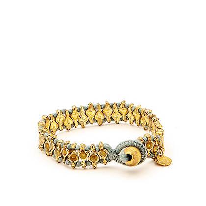 Bracelet Deva- gold blue (sold out)