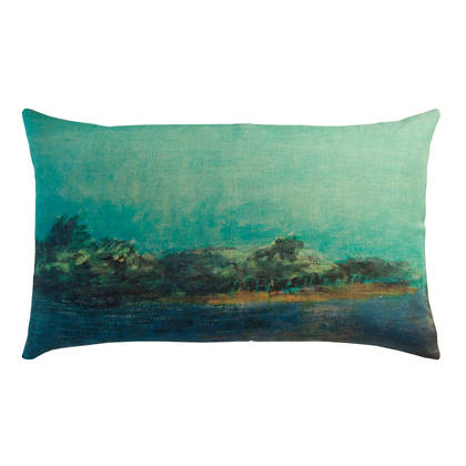 Maison Lévy Emeraude Cushion 50 x 30cm (available to order)