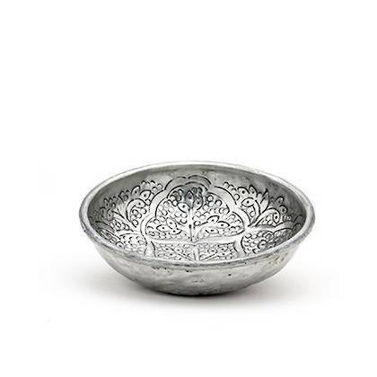 Oriental Bowl 17cm diamater. Handmade in India