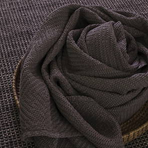 Portuguese Cotton Throw - Charcoal (sold out)