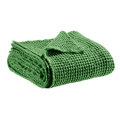 Portuguese Cotton Throw - Mid Green (sold out)