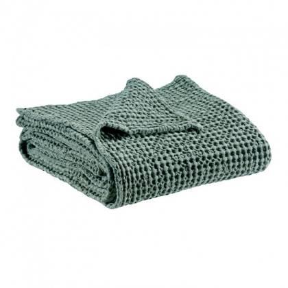 Portuguese Cotton Throw - Vert de gris (sold out)