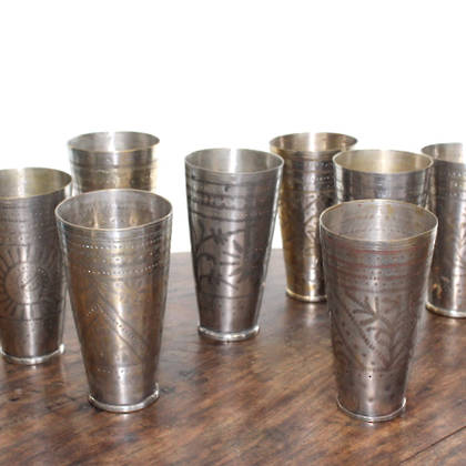 Vintage Lassi Cups From India Buy Online
