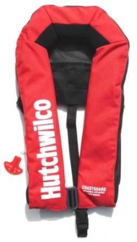 Portable Life Vest : Hutchwilco quot coastguard n inflatable lifejacket for