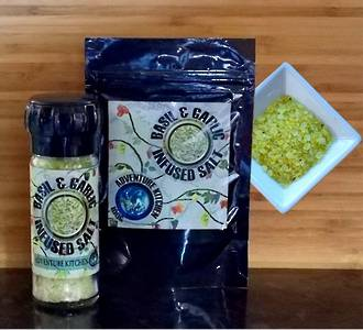 Basil & Garlic Salt Refill