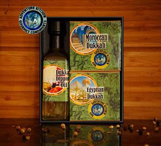 Dukkah & Oil Set
