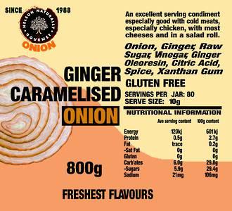 Ginger Caramelised Onion (800g)
