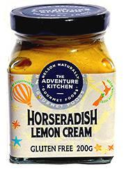 Horseradish Lemon Cream