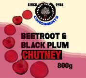 Beetroot & Black Plum Chutney