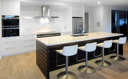 Roughsawn Timber Adds Richness To North Shore Kitchen Kitchens Residential Interiors Neo