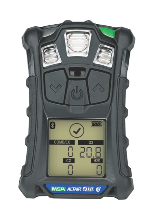 Msa Altair 4xr Multi Gas Detector Lel O2 Co H2s No2 So2