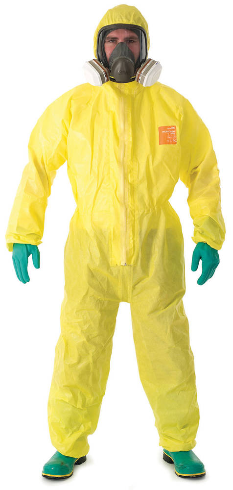 Microchem 3000 Chemical Coverall Splash Suits Chemical